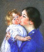 Mary Cassatt A Kiss for Baby Anne oil painting