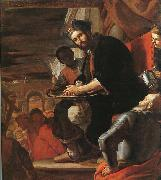 Mattia Preti Pilate Washing his Hands oil painting artist
