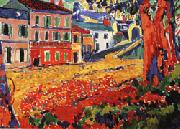 Maurice de Vlaminck Restaurant at Marly-le-Roi oil painting on canvas