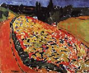 Maurice de Vlaminck The Hills a Rueil oil painting reproduction