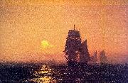Mauritz F H Haas Into the Sunset oil painting