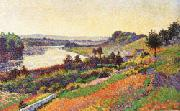 Maximilien Luce The Seine at Herblay oil painting