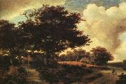 Meindert Hobbema Landscape oil painting reproduction