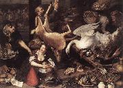 NIEULANDT, Adriaen van Kitchen Scene oil painting