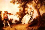Nicolas Lancret Woman on a Swing oil painting