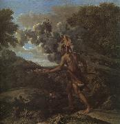 Nicolas Poussin Blind Orion Searching for the Rising Sun oil painting