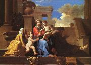 Holy Family on the Steps