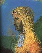 The Druidess, Odilon Redon
