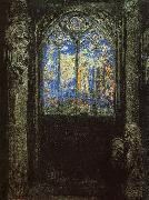 Stained Glass Window, Odilon Redon