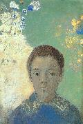 Portrait of Ari Redon, Odilon Redon