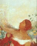 The Predestined Child, Odilon Redon