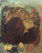 Portrait of Paul Gauguin, Odilon Redon