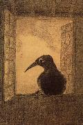 The Raven, Odilon Redon
