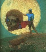 The Fall of Icarus, Odilon Redon