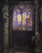 Stained-Glass Window, Odilon Redon