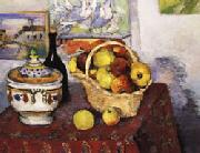 Paul Cezanne Still Life with Soup Tureen oil painting on canvas