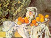 Paul Cezanne Still Life with Drapery USA oil painting reproduction
