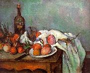 Paul Cezanne Onions and Bottles USA oil painting reproduction