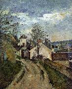 Paul Cezanne The House of Dr Gauchet in Auvers USA oil painting reproduction