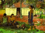 Paul Gauguin Why Are You Angry oil painting reproduction
