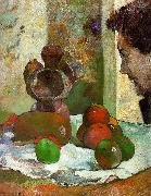 Paul Gauguin Still Life with Profile of Laval USA oil painting reproduction