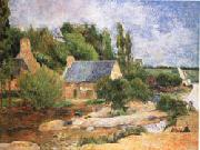 Paul Gauguin Washerwomen at Pont-Aven oil painting reproduction