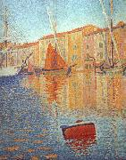 Paul Signac Red Buoy oil painting