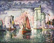 Paul Signac Port of La Rochelle