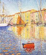The Red Buoy, Paul Signac