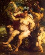 Peter Paul Rubens Bacchus oil painting