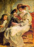 Peter Paul Rubens Helene Fourment and her Children, Claire-Jeanne and Francois oil painting