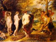 Peter Paul Rubens The Judgment of Paris oil painting