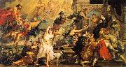 Peter Paul Rubens The Apotheosis of Henry IV and the Proclamation of the Regency of Marie de Medici on the 14th of May oil painting