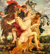 Peter Paul Rubens The Rape of the Daughters of Leucippus oil painting