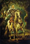 Peter Paul Rubens Equestrian Portrait of the Duke of Lerma oil painting