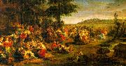 Peter Paul Rubens The Village Wedding oil painting