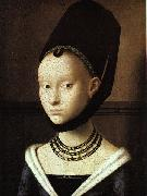 Petrus Christus Portrait of a Young Woman oil painting reproduction