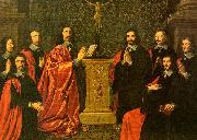 The Aldermen of the City of Paris, Philippe de Champaigne