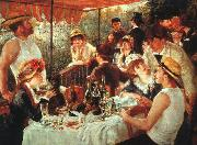 Pierre Renoir Luncheon of the Boating Party oil painting reproduction