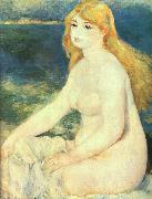 Blond Bather, Pierre Renoir