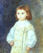 Child in White, Pierre Renoir
