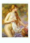 Bather with Long Hair, Pierre Renoir