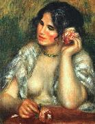Gabrielle with a Rose, Pierre Renoir