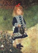 Girl and Watering Can, Pierre Renoir