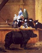 Exhibition of a Rhinoceros at Venice
