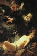 The Sacrifice of Isaac, Rembrandt