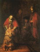The Return of the Prodigal Son, Rembrandt