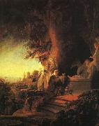 The Risen Christ Appearing to Mary Magdalen, Rembrandt