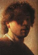 Self Portrait  ffcx, Rembrandt