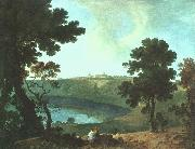 Lake Albano and Castel Gandolfo, Richard  Wilson